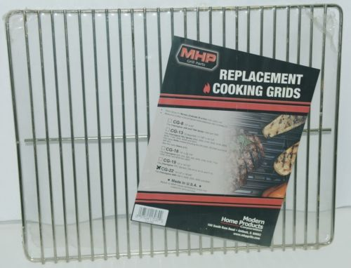 Modern Home Products CG22 Replacement Cooking Grid Nickel Chrome Plated