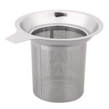 Mesh Tea Infuser Reusable Strainer Stainless Steel Filter Kitchen Access... - £3.68 GBP