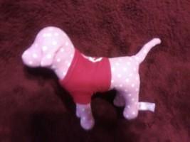 Victorias Geheimnis Pink Hund mit Rot Plüsch Plüsch - $7.81