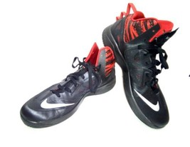 uk availability 1d12e 3f53f Nike Zoom Hyperfuse 2013 Men  39 s 12 Black Red Basketball 615896-