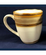 Mug 8oz White Brown Heavy Weight Quality Coffee Tea Cocoa China 4971 - $10.89