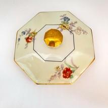 Limoges Jewel Pattern Sugar Lid Octagonal Theodore Haviland France - $34.99