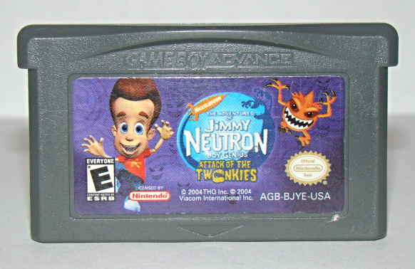 Primary image for Nintendo GAME BOY ADVANCE - JIMMY NEUTRON - ATTACK OF THE TWONKIES (Game Only)