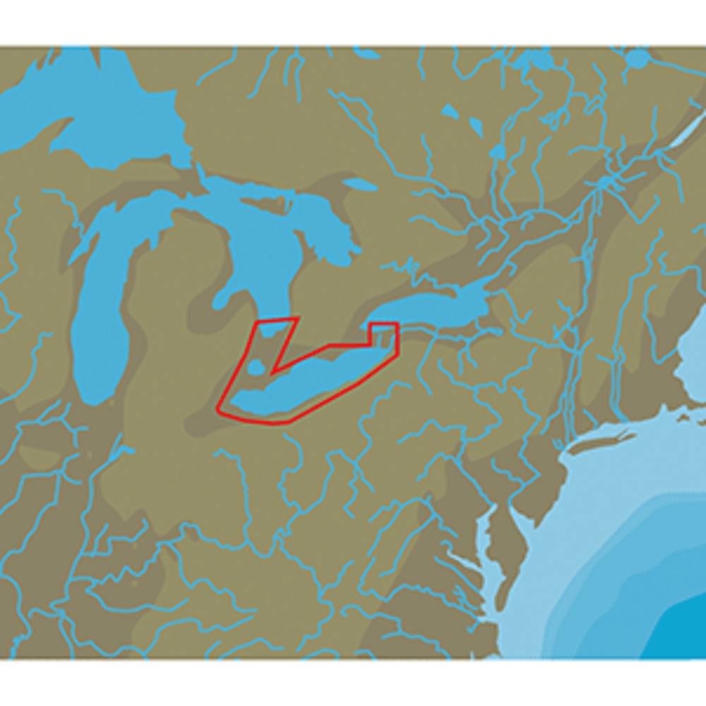 Primary image for C-MAP NT+ NA-C112 Lake Erie and Lake St Clair - FP-Card Format