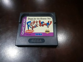 Quest for the Shaven Yak starring Ren Hoëk & Stimpy (Sega Game Gear, 1994) - $9.99