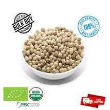 Organic White Pepper Whole Natural spices  Premium Quality grade A  Peppercorns - $5.77+