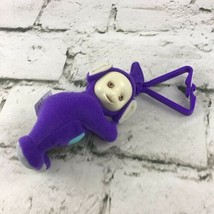 Teletubbies Purple Plush Mini Doll Backpack Clip McDonalds Happy Meal Toy - $7.91
