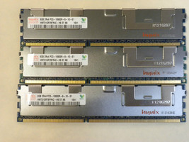 24GB (3X8GB) Memory DDR3 PC3-10600 ECC REG Comp to Dell SNPX3R5MC/8G A3078601