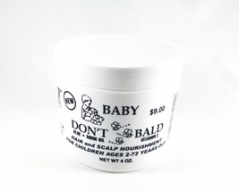 Baby Don't Be Bald Hair & Scalp Nourishment Hair Growing Formula 4 oz - $8.90