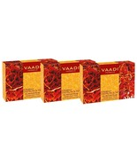 Vaadi Herbals Luxurious Saffron Soap, Skin Whitening Therapy- 75g ( Pack... - $11.63