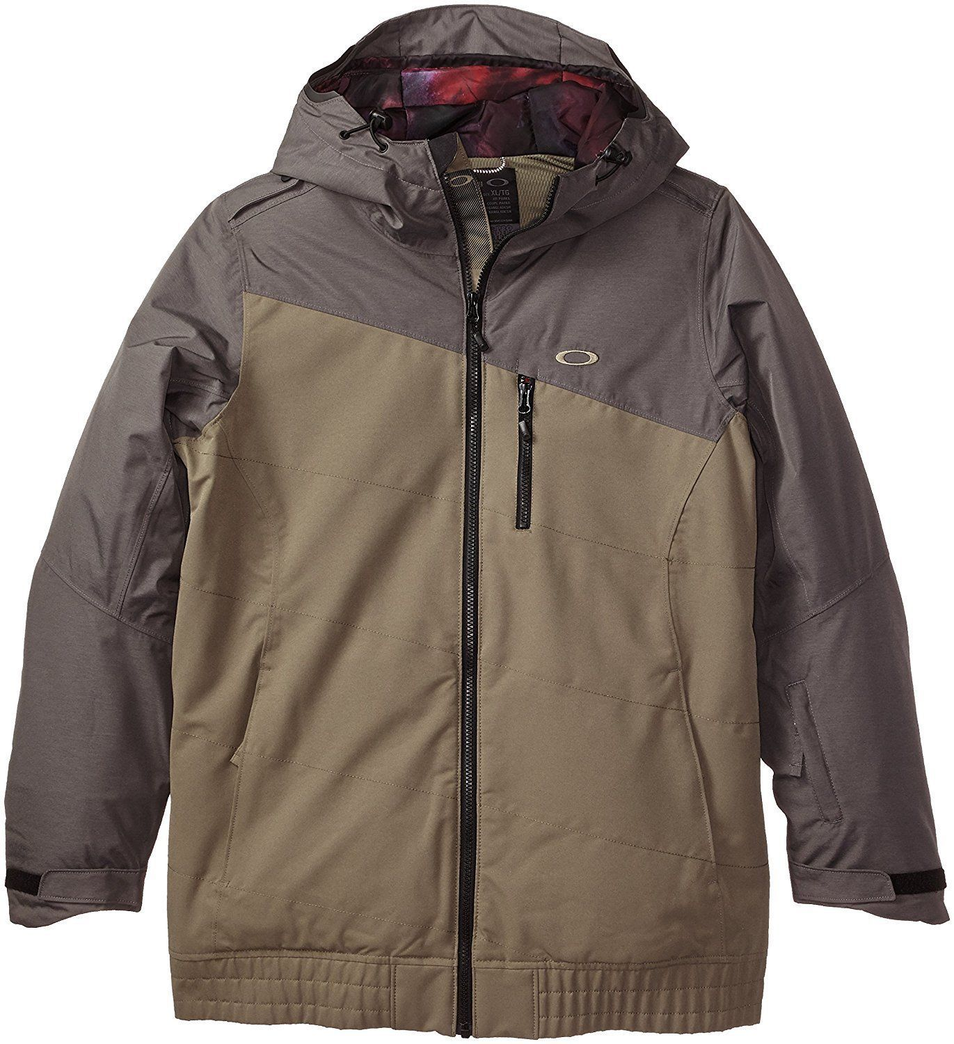 Oakley QUEBEC INSULATED Women's M MD Winter Ski Snowbaord Jacket WORN OLIVE NEW