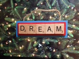 Atlanta Dream WNBA Christmas Ornament Scrabble Tiles Rear View Mirror - $8.90