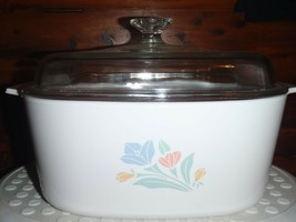 Vintage Friendship Corning Ware 5 Liter Casserole Dish Lid A-5-B Dutch Oven  - $37.39