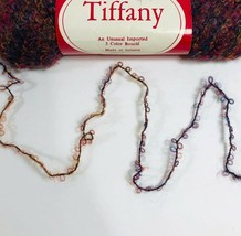 Vintage Berroco Yarn Tiffany Wool Blend Worsted Weight Knit Multi Brown ... - $18.08