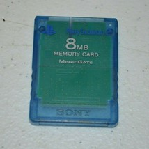 Official OEM Sony Playstation 2 PS2 8MB Magicgate Memory Card SCPH-10020... - $14.02 CAD