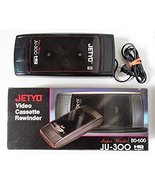 JETYO Black VHS Video Tape Rewinder JU-300 - TESTED and WORKS - $74.99