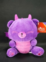 Russ Purple Pink Baby Dragon Plush Stuffed Animal Drago Fantasy Kingdom ... - $16.82