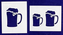"Beer Large-2 Piece Stencil Set 8"" X 10"" - $15.99"