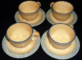 4 Pfaltzgraff 'America' Cup & Saucer Sets - $11.95