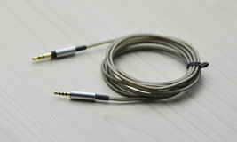 6ft Replacement Silver Audio Cable Cord For Audio-Technica ANC27 ANC27X - $18.80