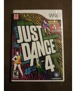 Just Dance 4 (Nintendo Wii, 2012) 40+ Hit Tracks Rated E 10+ NIP Ubisoft - $19.79