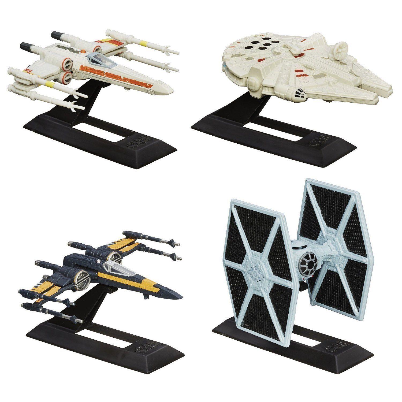 Star Wars The Black Series Titanium Series Vehicles Multi Pack Gift Set, Hasbro