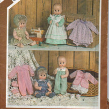 "Simplicity 5615 Doll Wardrobe for 17-18"" Doll - $3.00"