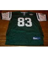 NEW YORK JETS #83 SANTANA MOSS NFL FOOTBALL JERSEY YOUTH XL 18-20 - $19.80