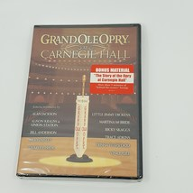 GRAND OLE OPRY AT CARNEGIE HALL Alan Jackson/Brad Paisley DVD NEW/SEALED  - $16.00