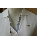 Bobby Jones Polo Shirt Golf Masters Augusta National Top White S NWT - $54.45