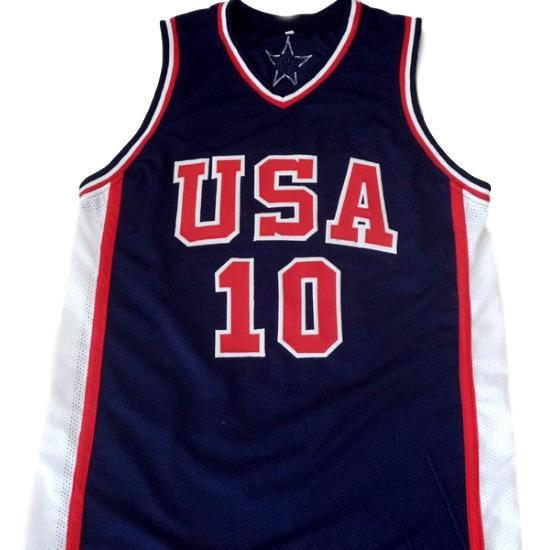 Kevin garnett  10 team usa new men basketball jersey navy blue 1