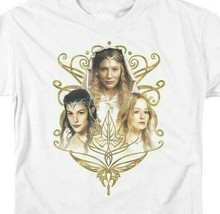 Lord Of The Rings Arwen Eowyn Galadriel J.R Tolkien Graphic T'shirt LOR1029 image 2