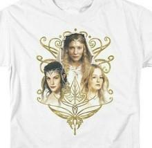 Lord Of The Rings Arwen Eowyn Galadriel J.R Tolkien Graphic Tshirt LOR1029 image 2