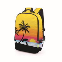 leisure student polyester wear resist school backpack - $26.00