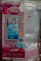 """Disney Princess Pole Top Valance - 50"""" x 17"""" - BRAND NEW IN PACKAGE -VER... - $19.79"""