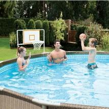 Basketball Set for For 10'-20' Metal Frame Above Ground Swimming Pool Su... - $39.59