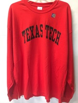 TEXAS TECH University Long Sleeve Jersey Shirt Sz 2XL image 2
