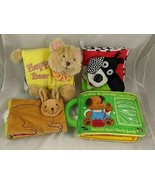 Soft Play Manhattan Toy Cloth Book Jingles Photo Lot of 4 Stuffed Animal - $17.95