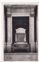Shrine In The Library Of Congress Washington, Dc Vintage Postcard - $2.64