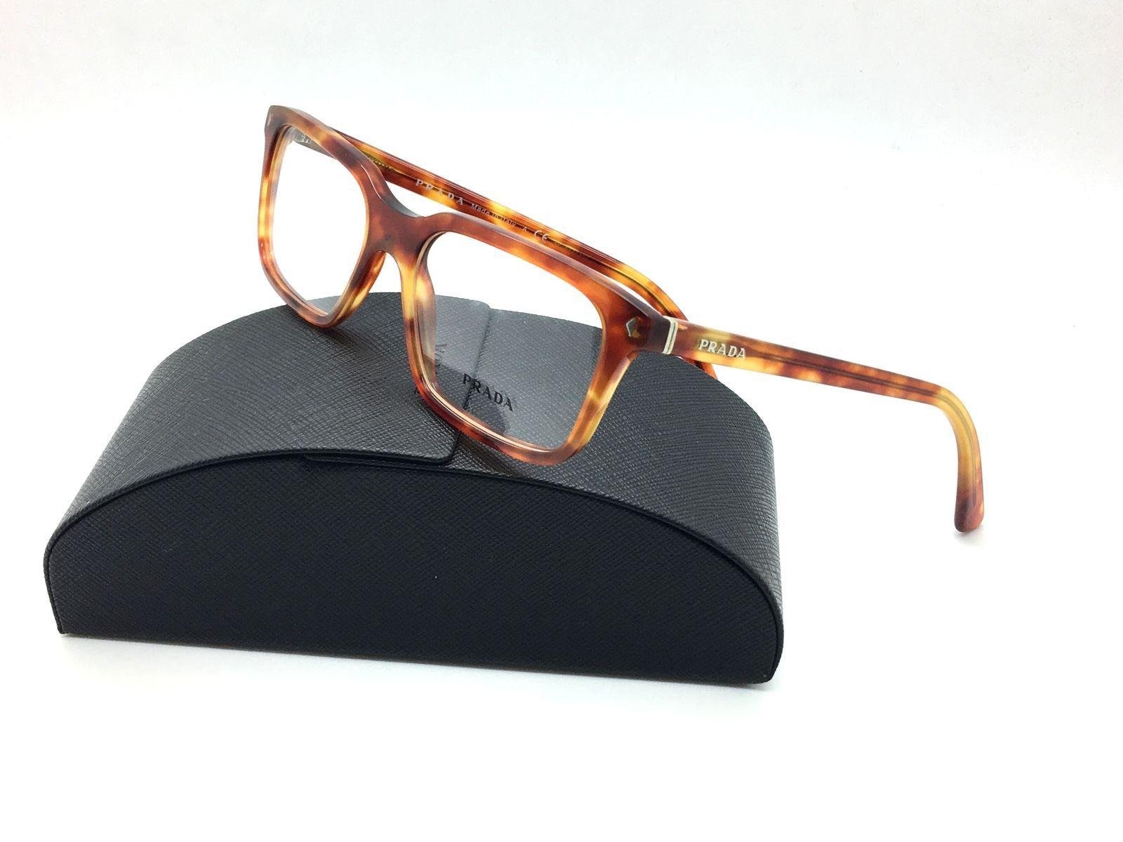 3ccb92b2f9716 ... australia prada brown eyeglasses vpr 04r 4bw 1o1 52 mm and 50 similar  items 69344 48ad2