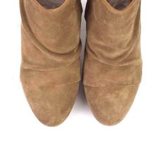 Coclico Brown Suede Leather Ankle Boots Booties Zip Womens EU 37 / US 6.5 - 7 image 7