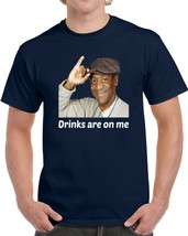 Bill Cosby Drinks Are On Me Funny T Shirt Novelty Party Gift Unisex Tee ... - $13.83+