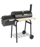 BBQ Grill Charcoal Barbecue Patio Backyard Home Meat Smoker - $178.67 CAD