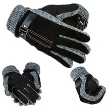 Male Leather Gloves Thinsulate Soft Feel Fully Lined Winter Warm Walking... - $284,54 MXN