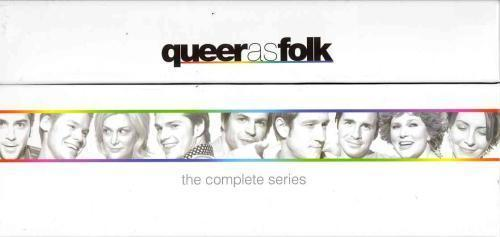 Queer as Folk: The Complete Series  [DVD Sets New] Seasons 1 2 3 4 & 5