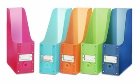 Files Magazine Organizer Storage Holder Container Colored School Office ... - $29.97