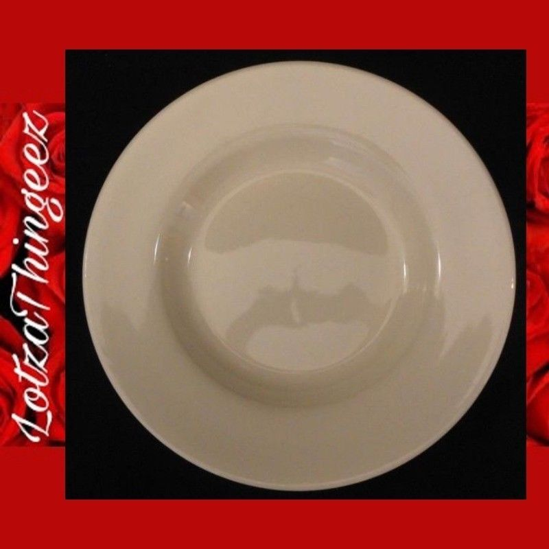 "Venture China 12"" Large Rim Off White Pasta Dishes 1-3 Available"