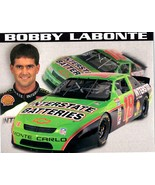 Bobby Labonte Interstate Batteries 1995 Racing Drivers 8 x 10 Card - $4.00