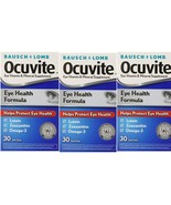 Ocuvite Eye Health Size 30ct(Pack of 3) Total 90 - $19.99