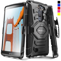 For LG K7 2016 / LG Tribute 5 Hard Shockproof Case Cover Clip Holster Ki... - $12.50